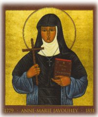 Icon of Blessed Anne Marie Javouhey